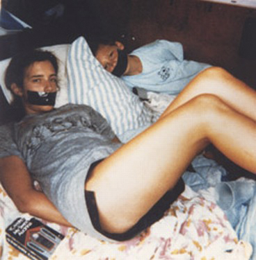The Polaroid photo found by a woman in a supermarket parking lot in 1989